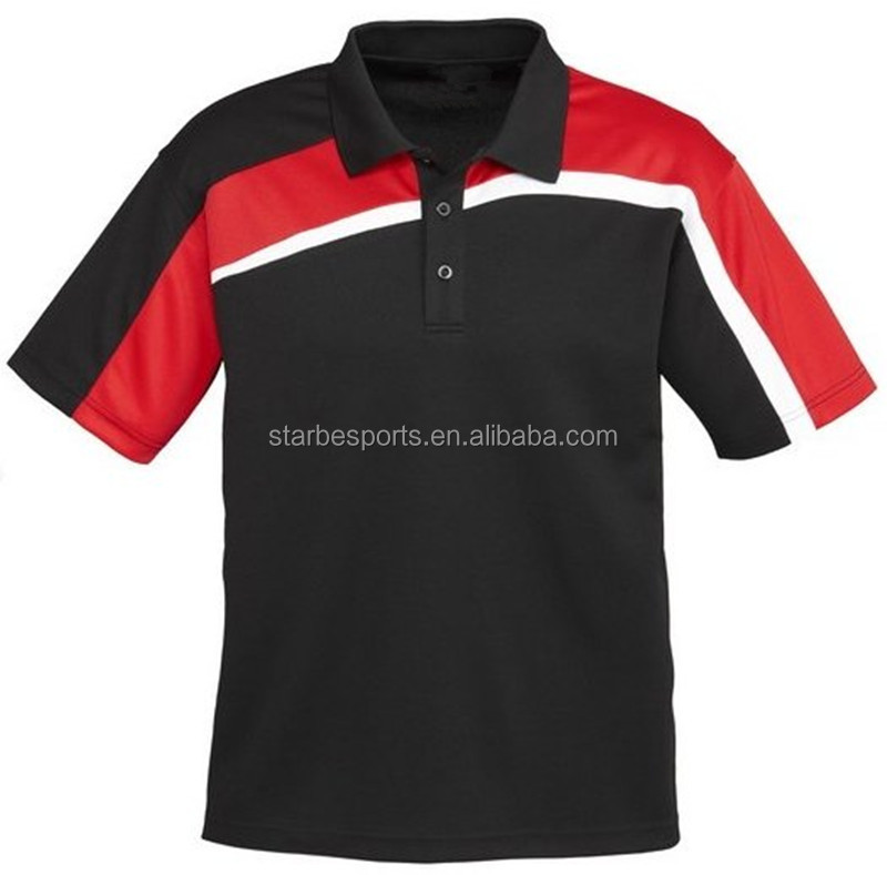 2016 new design fresh color dri fit golf shirts wholesale