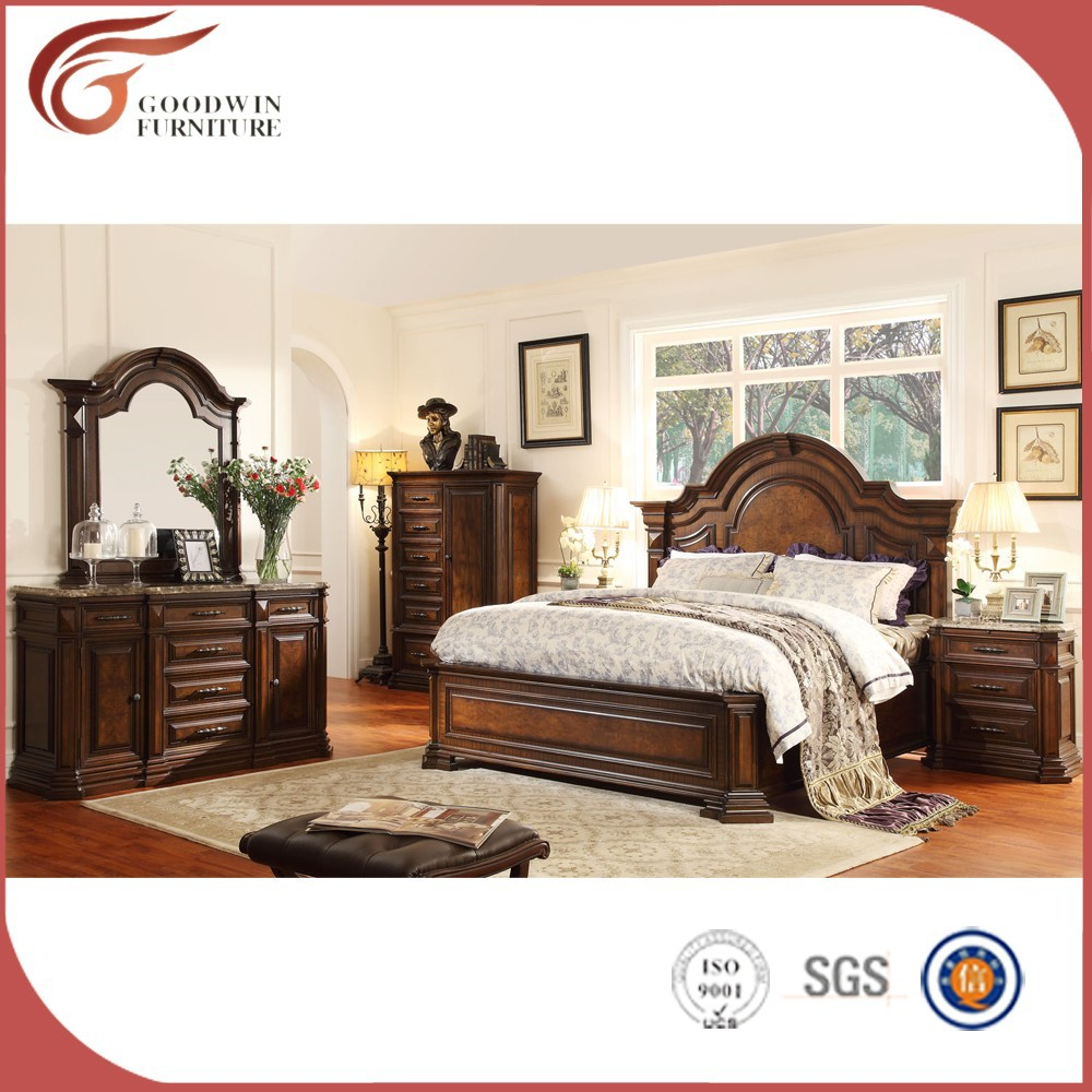 Wood Furniture Wood Carving Bedroom Furniture Solid Wood Bedroom