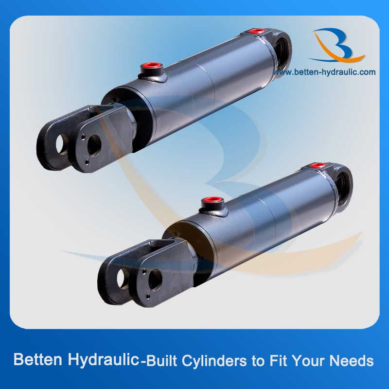Manual Hydraulic Steering Cushion Cylinder with Clevis
