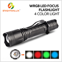 Outdoor Strongest led Night Hunting Torch Light, 800 lumen Rechargeable Green led Tactical Hunting Flashlight