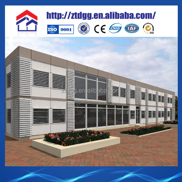 Prefabricated construction solutions low cost homes light steel frame school prefab school building price