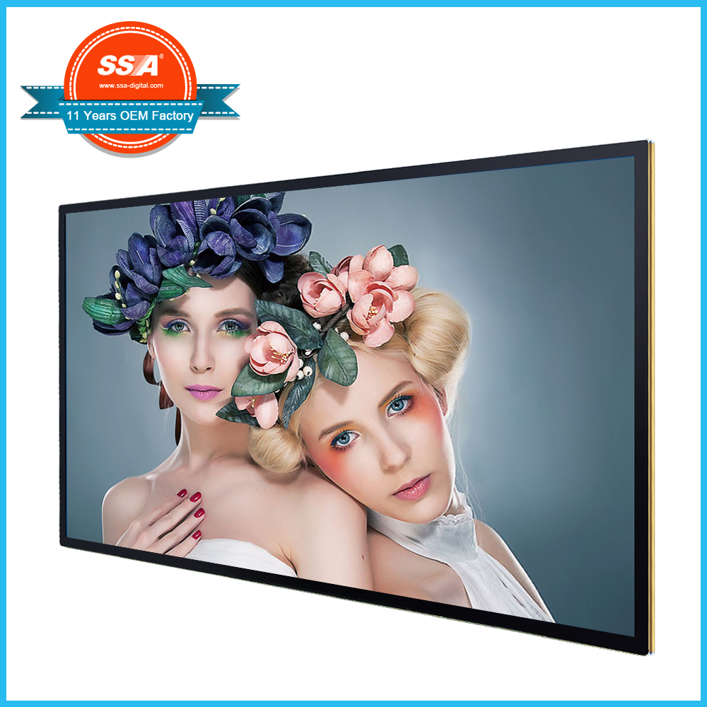 43 inch vertical standalone network media display advertising player