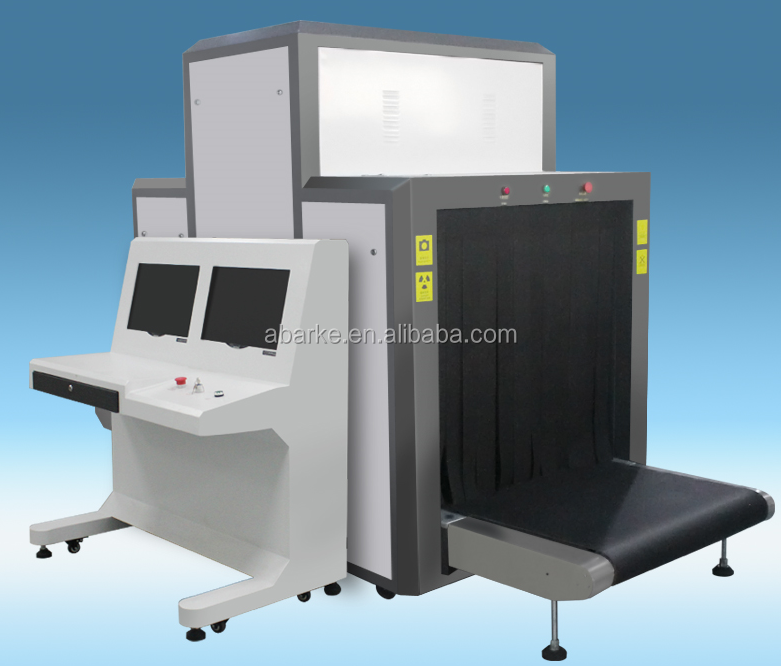 K10080 Airport X-Ray Baggage Scanner X Ray Security Scanner Equipment