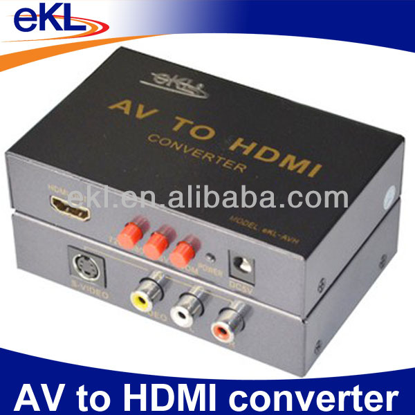 Mini AV to HDMI Converter Upscaler Box 1080P Video Converter