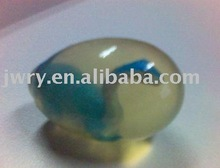 80G EGG SHAPE TRANSPARENT BATH SOAP WITH A SOAP SNAKE IN IT