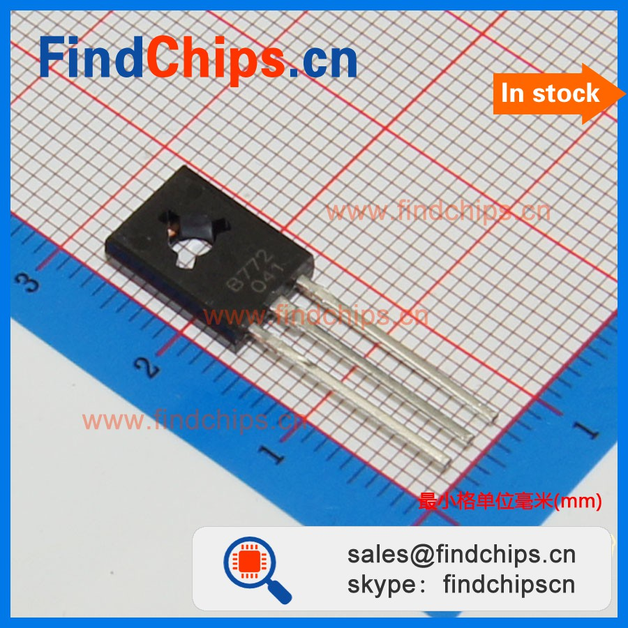 (IC chip) B772 Y TO126