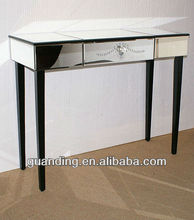 Venetian Mirrored Patterened Dressing Table Assembled
