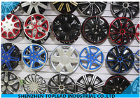 "12""13""14""15"" ABS/PP Twin-color Car Wheel Cover, Universal Hubcup Rim Skin Cover"