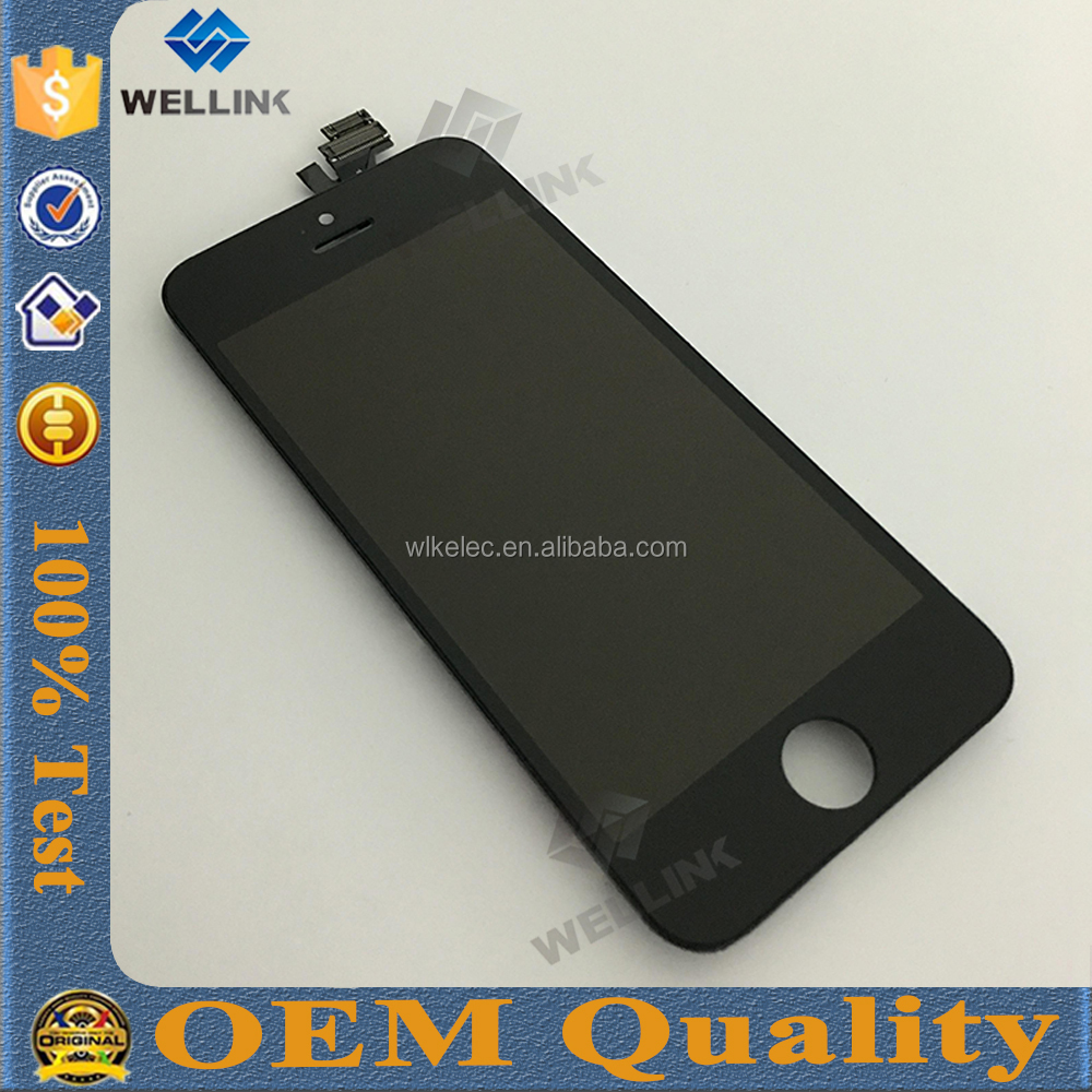 spares for iphone 5 Lcd Assembly,china oem,bestsellers