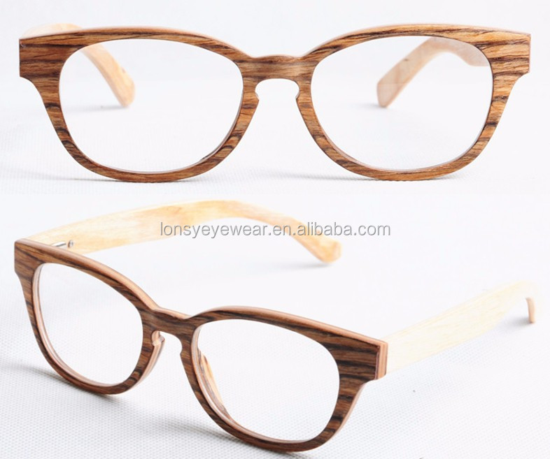 new designer wood eyeglasses frames designer prescription