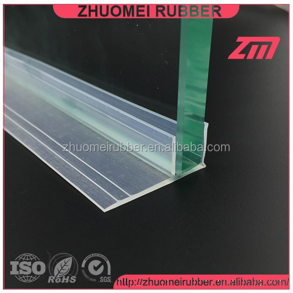 shower glazing silicone rubber seal strip