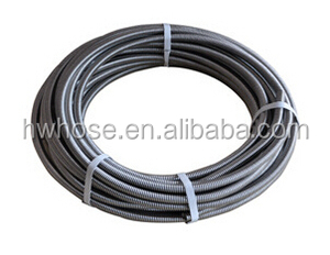 Stainless steel corrugated flexible plumbing hose for water application