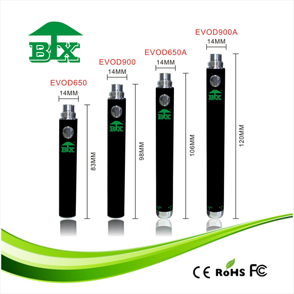 2016 Electronic Cigarette Factory Price EVOD Twist battery
