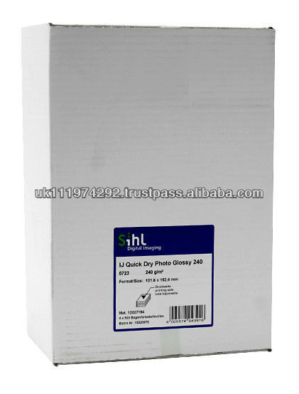 Quick Dry Resin Coated Glossy Photo Paper