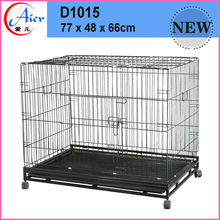 puppy training dog cage with plastic pallet