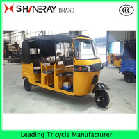 Tuk tuk Bajaj three wheeler passenger tricycle best price India Taxi!!