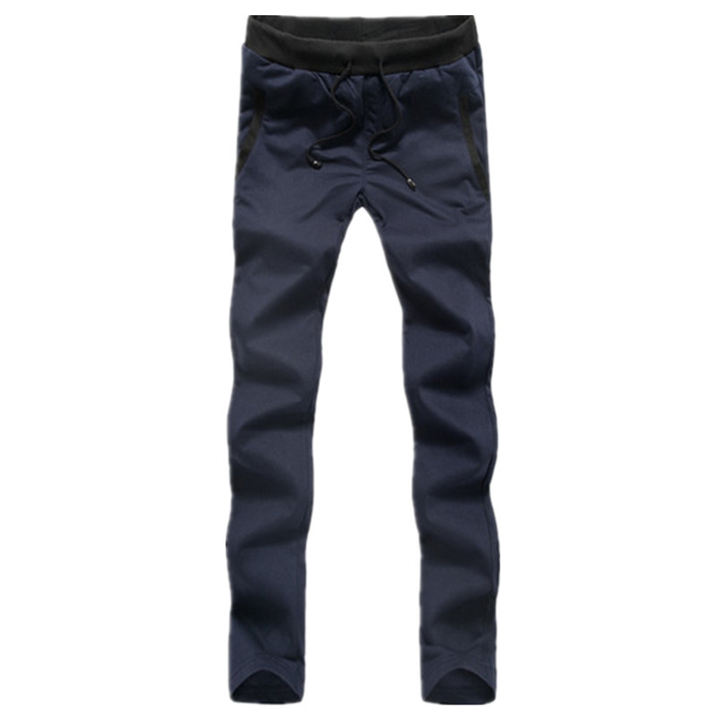 wholesale high quality cheap price cotton and polyester mixed men pants,men capris