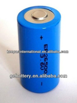 GEB ER26500 3.6v 8500mAh battery