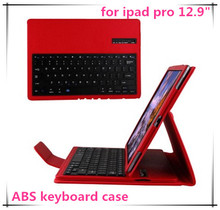 "newest for ipad pro wireless foldable bluetooth keyboard for 12.9"" tablet pc fashion business protable keyboard"