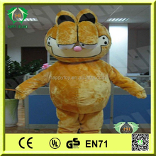 HI CE hot sale high quality used adult cartoon character Garfield mascot costume for sale
