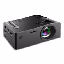 Newest UC18 Digital cinema Projector 400lumens usb LED projector cheap mini projector