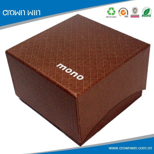 High quality texture paper gift box wholesale in Dongguan