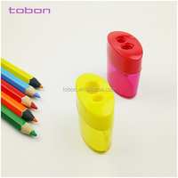 Transparent Color With Container Double Holes