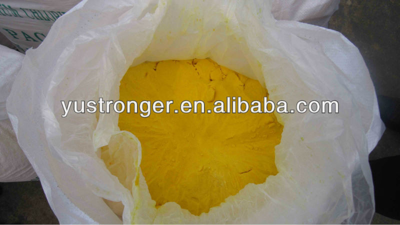 China supplier hot sales raw chemical poly aluminum chloride production
