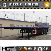 SEENWON top brand 20ft 40 ft flatbed container semi tractor trailer
