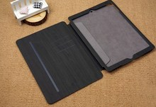 2015 Customized Hot selling Genuine Leather Tablet Cover Case For ipad air