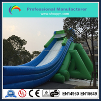 high quanlity inflatable hippo slide/inflatable water slide for adults