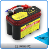 Powkey new rechargeable 12v 5ah motorcycle battery