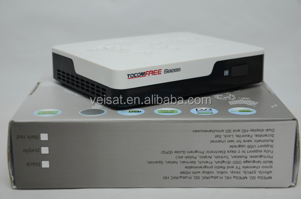 Original Hot-selling Full HD 1080P Receiver Tocomfree S928S iks& sks free In Stock