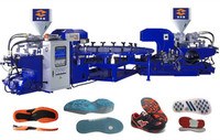 Rotary 1/2/3 Color PVC Sole Injection Moulding Machine (Energy Saving)