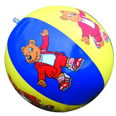 Customized PVC Inflatable Beach Ball with multicolor