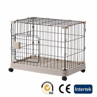 Portable Foldable Pet Dog House Wholesale Metal Dog Cage With Lock