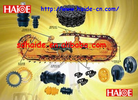 excavators and bulldozers undercarriage parts carrier track roller idler recoil spring sprocket link track shoe assy