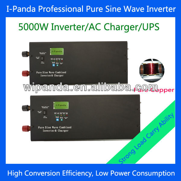 24v to 220v 230v 5000W Power Home Solar Inverter with Battery Charger and UPS