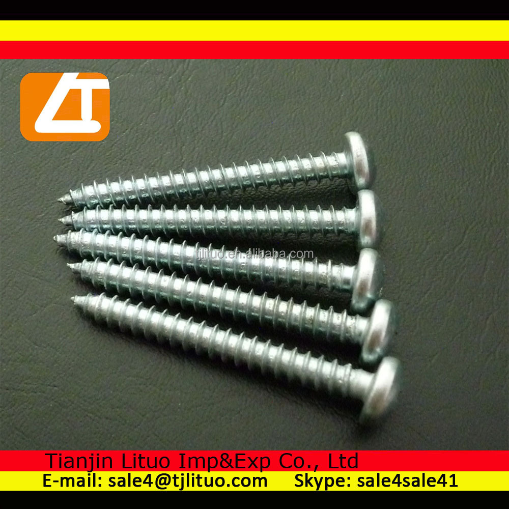 philips pan head self tapping screw good price DIN7981 self tapping screw with pan head M10
