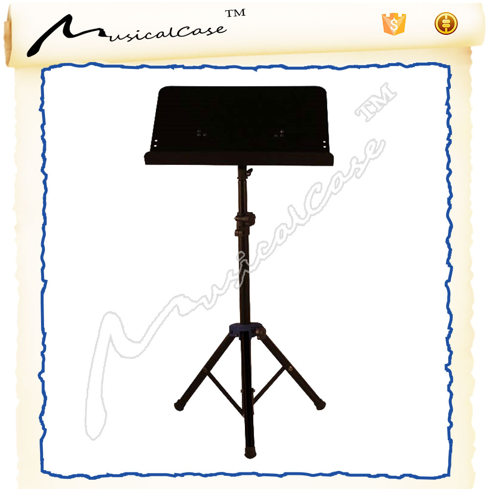 Newest hot sale lorn portable durable music score book shelf of music sheet standpiano music stand