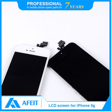 best quality one year warranty accept paypal replacment cell phone accessories lcd for iphone 5