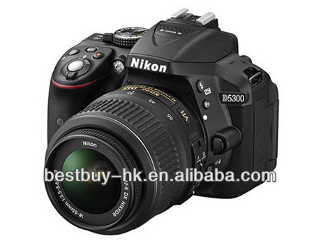 D5300 Digital SLR Camera 18-55 mm Lens Kit