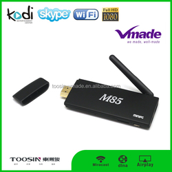 M85 s805 wifi android smart tv dongle 1G/8G android 4.4 amazon fire tv stick with remote
