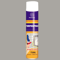 750ml home use Spray PU foam for filling joints/High Density Construction