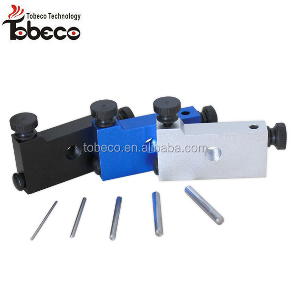 Hottest selling tobeco coil jig in silver/blue/black/gunmetal colors rda coil jig
