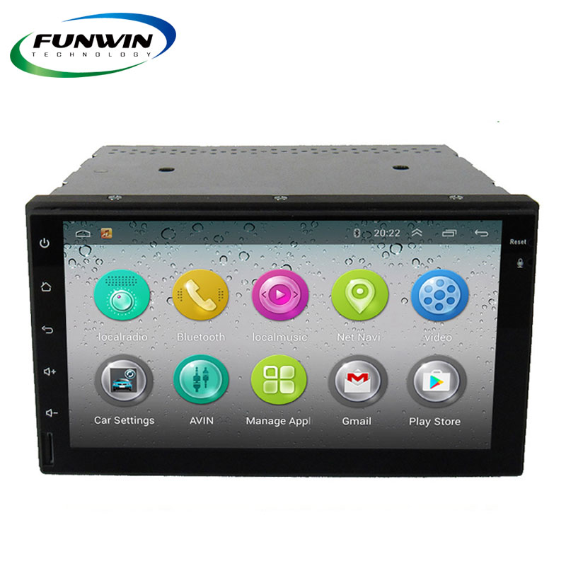 Funwin Double Din Pioneer Car Audio System Dvd Player For Universal With Car Radio Gps Navigation