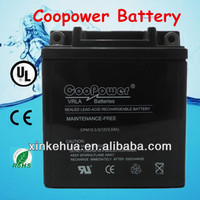 HOT Sell ! MF YB3L-BS 12V3AH battery for motorcycle