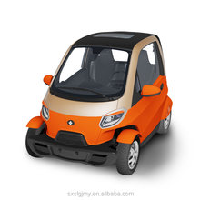 Mini EV Quadricycle Neighborhood Car Low Speed Electric Vehicle with 2 seats 4 wheels for elders and teenagers