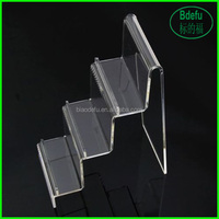 Clear Acrylic Wallet Jewelry Display Stand Holder Show Caraft Rack General