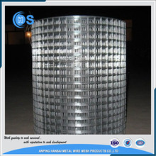pvc 1x1 coated welded wire mesh